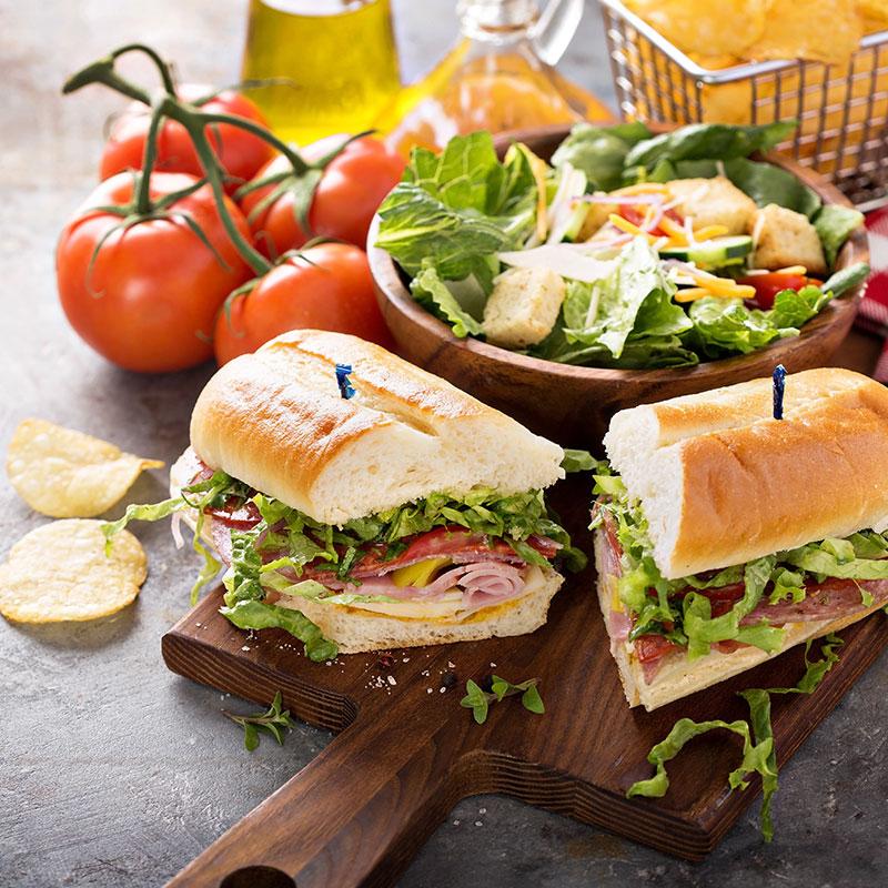 Box Lunch Sandwiches